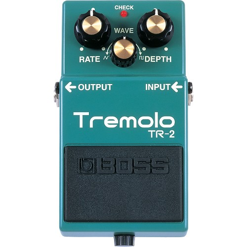 BOSS Guitar Effect Tremolo [TR-2] - Gitar Stompbox Effect